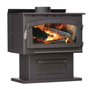 US Stove  107000 BTU 1700 sq. ft. Wood Stove