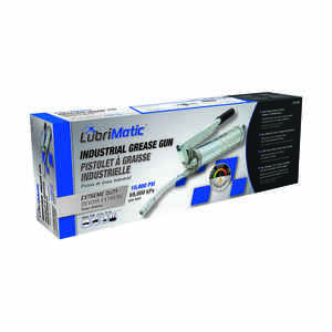 Lubrimatic  Steel  Grease Gun  Manual  14 in.