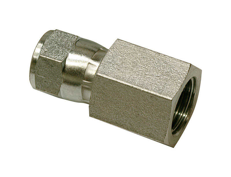 Apache  Steel  Hydraulic Adapter  5/8 in. Dia. x 3/8 in. Dia. 1