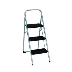 Cosco  2 ft. H 200 lb. 3 step Steel  Step Stool