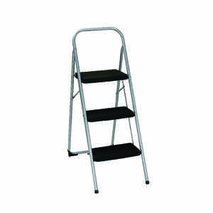 Cosco  2 ft. H 200 lb. Steel  3 step Step Stool