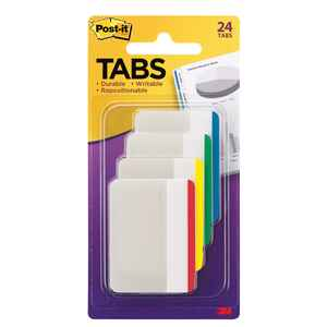 Post-It  2 in. W x 1.5 in. L Assorted  Page Markers  4
