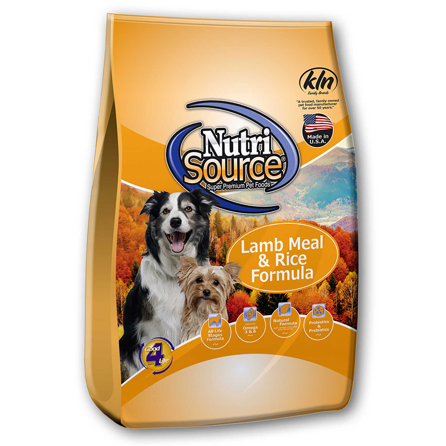 Nutri Source  Lamb and Rice  Cubes  Dog  Food  30 lb.