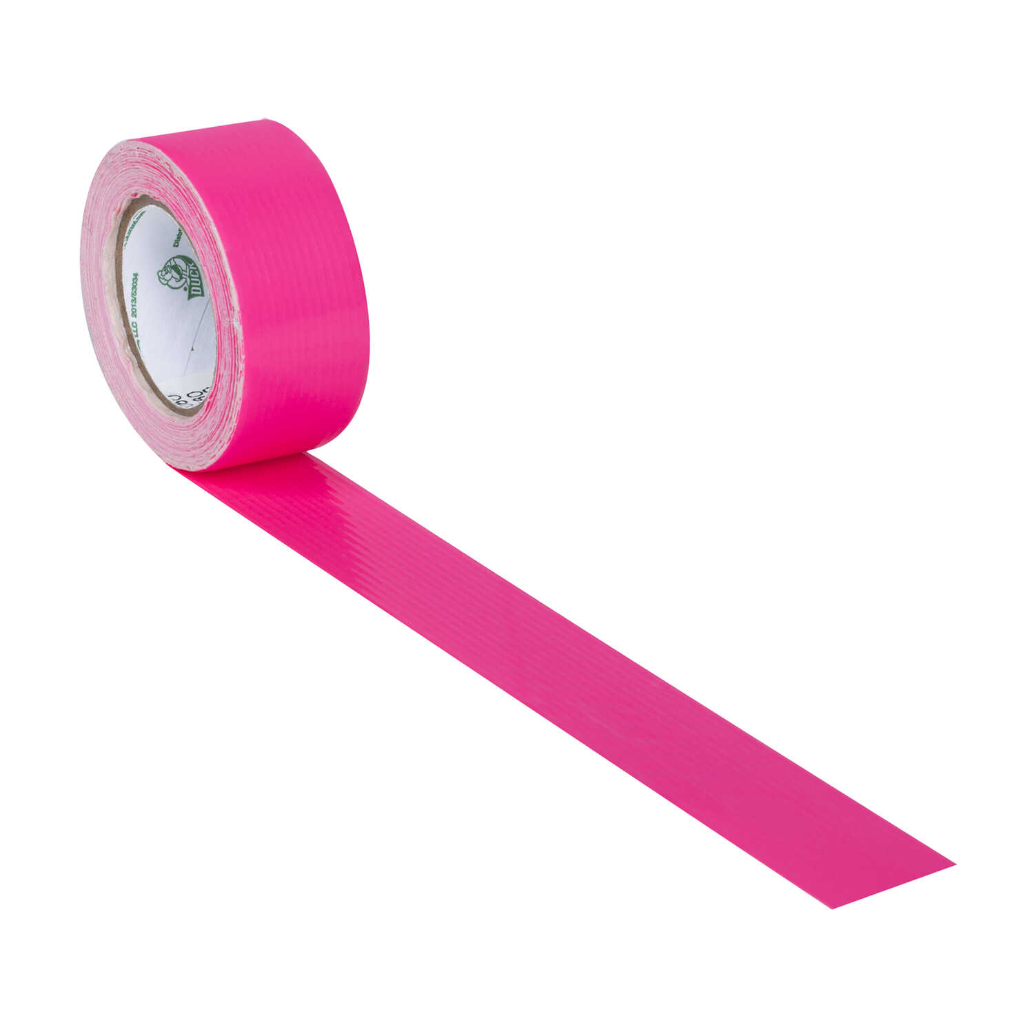 Duck  0.75 in. W x 180 in. L Pink  Solid  Duct Tape