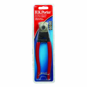 H.K. Porter  7-1/2 in. L Red  Cable Cutter  3/16 in.