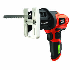 Black and Decker  1/2 in. Cordless  Compact Saw  7.2 volt 2050 spm