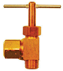 JMF 1/4 in. 1/8 in. Brass Angle Compression Valve