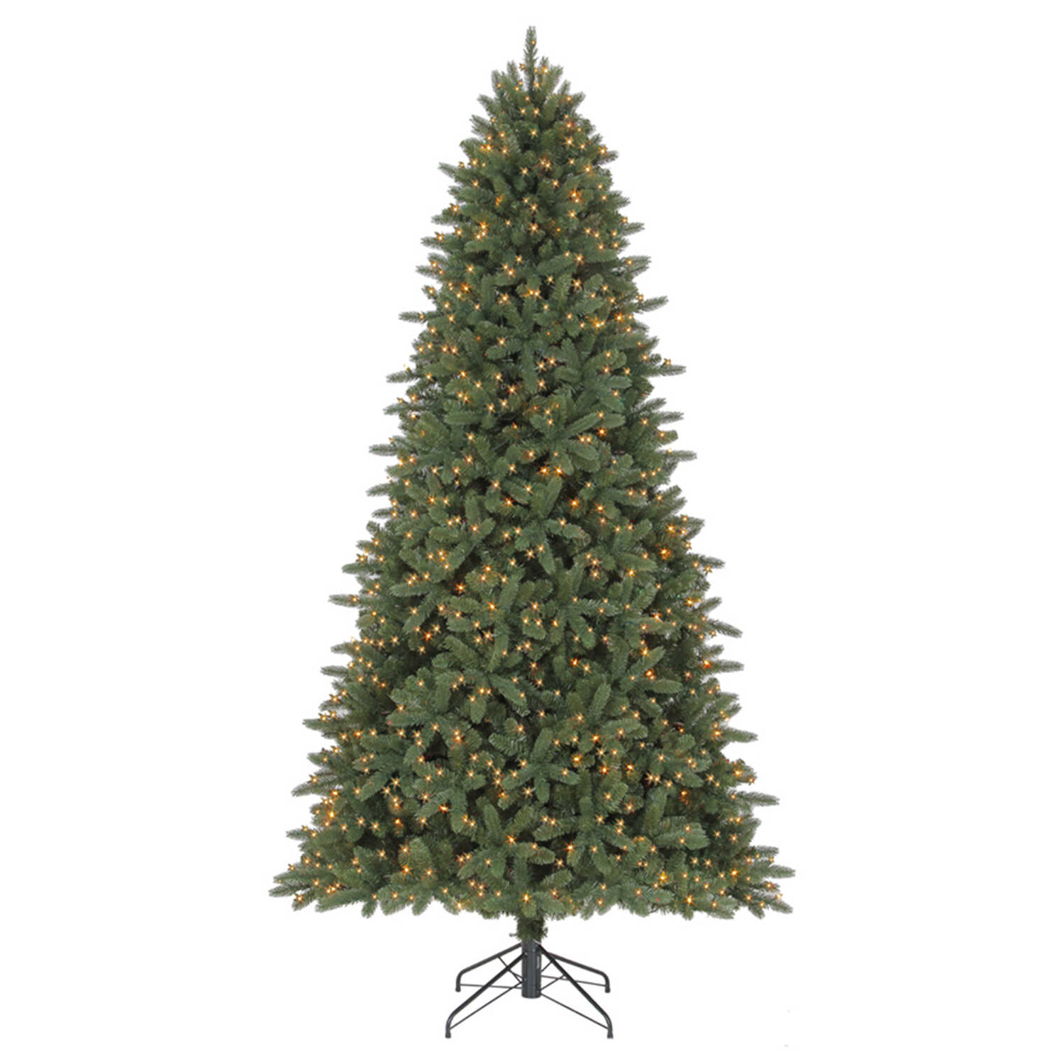 Celebrations  Clear  Prelit 12 ft. Grand Fir  Artificial Tree  1500 lights 4797 tips