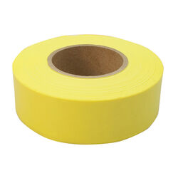 C.H. Hanson  300 ft. L x 1.2 in. W Plastic  Flagging Tape  Yellow