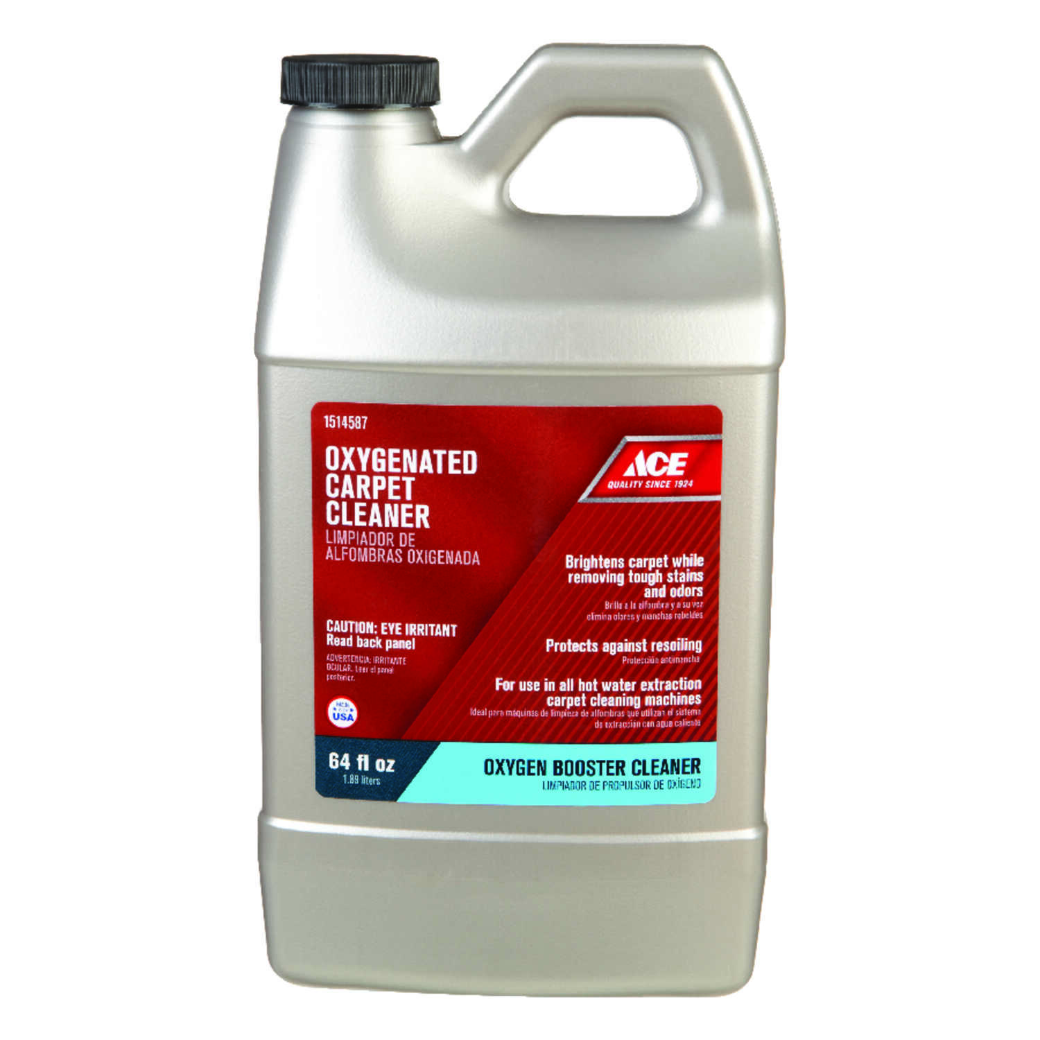 Ace  Oxy Magnet  Oxy Carpet Cleaner  64 oz. Liquid  Concentrated