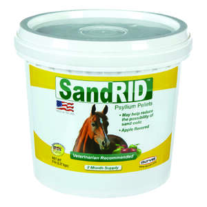 Sandrid  Solid  Psyllium Pellets  For Horse 5 lb.