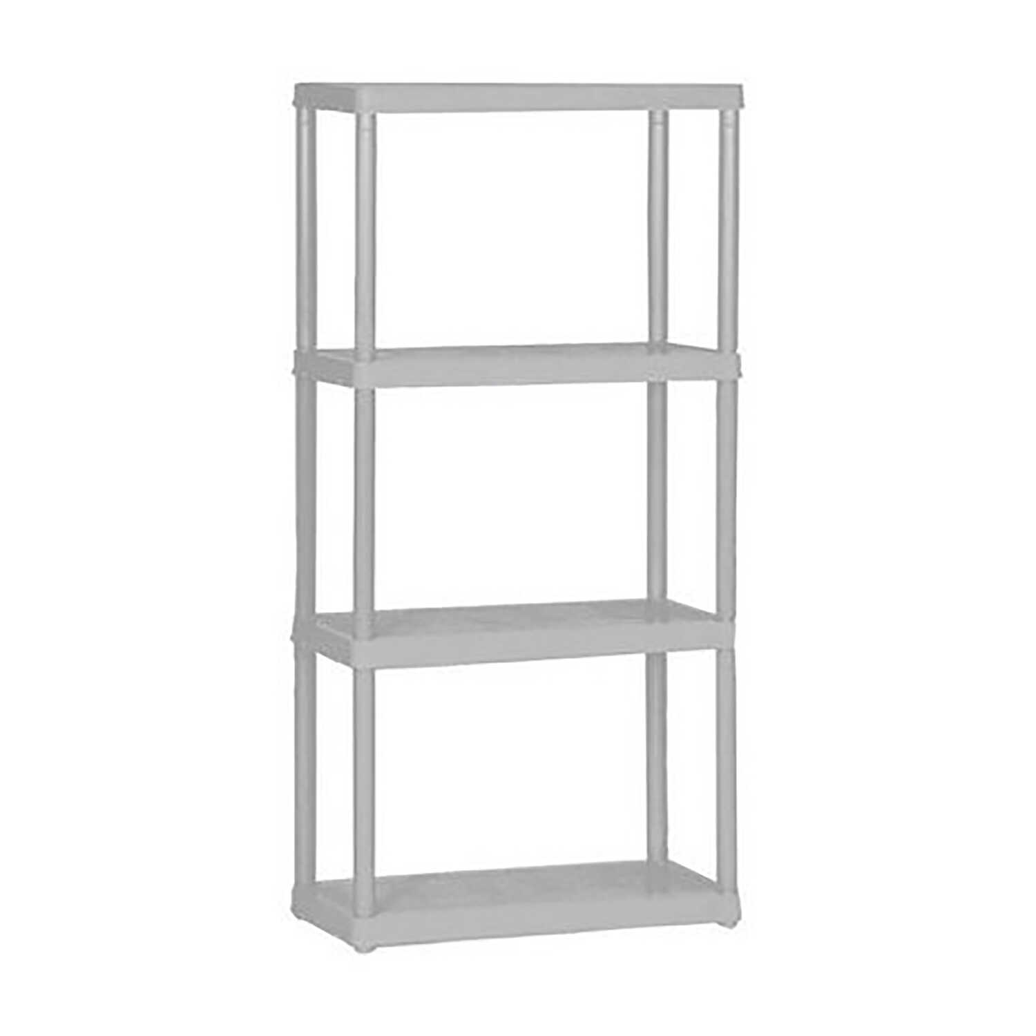 Maxit  48 in. H x 24 in. W x 12 in. D Resin  Shelving Unit