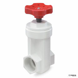 NDS 1 in. Slip-Joint PVC Gate Valve Lead-Free