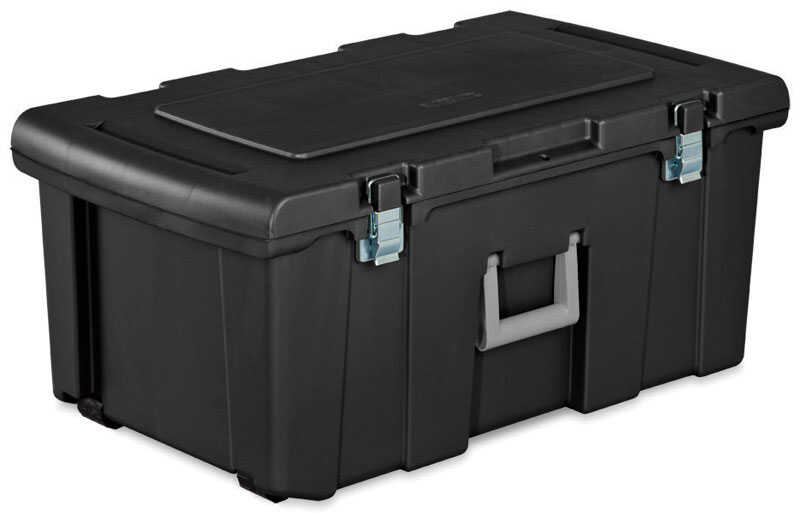 Sterilite  13.875 in. H x 17.625 in. W x 31.25 in. D Stackable Storage Unit
