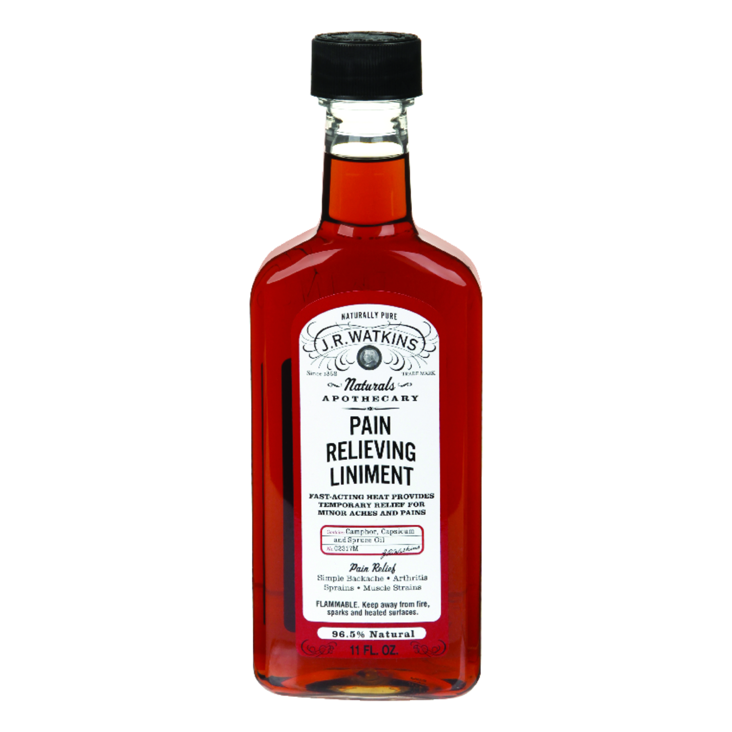J.R.  Watkins  Orginal Pain Relieving Liniment  11 oz.