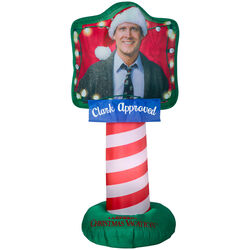 Gemmy  LED  National Lampoons  59.84 in. Inflatable  Clark Approved Griswold