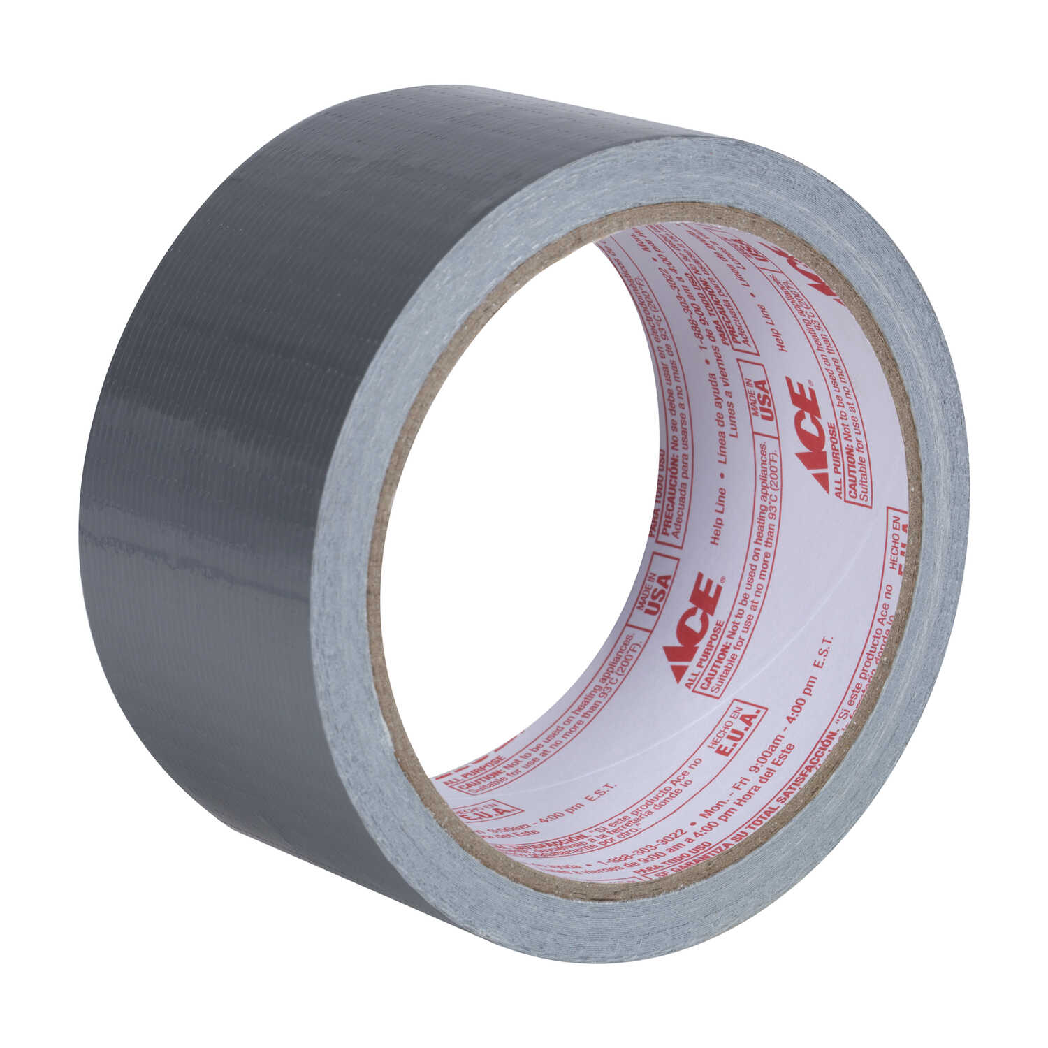 Ace  1.88 in. W x 10 yd. L Gray  Duct Tape
