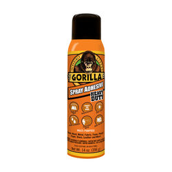 Gorilla  Heavy Duty  Super Strength  Spray Adhesive  14 oz.