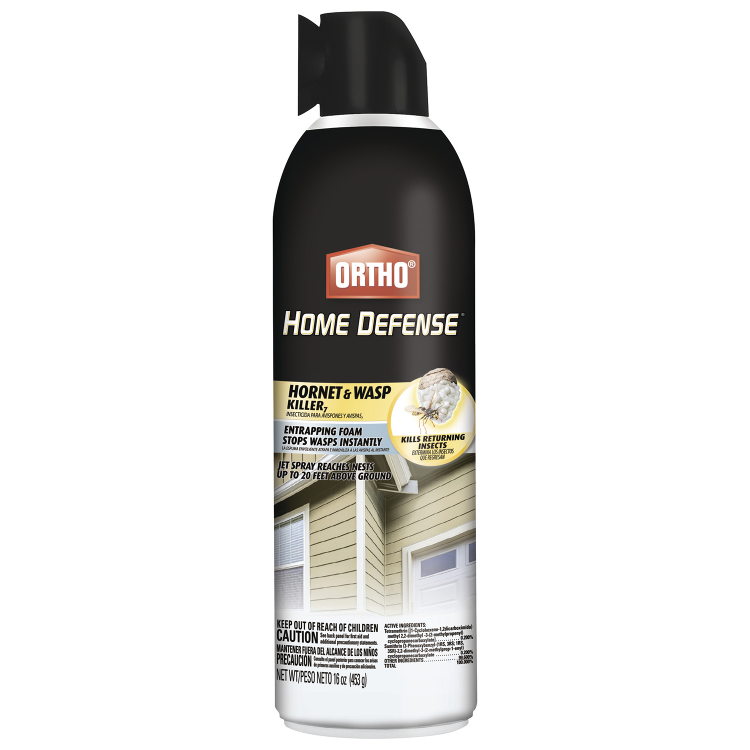 Ortho  Hornet & Wasp  Insect Killer  16 oz.