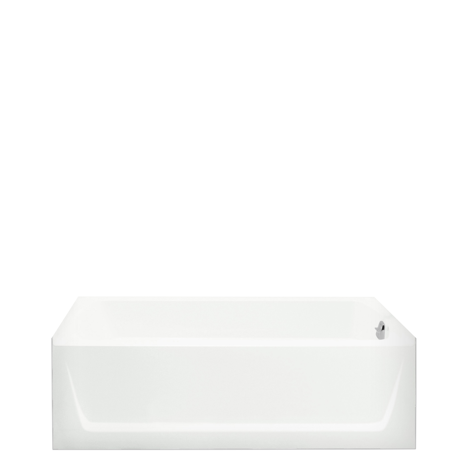Sterling  Ensemble  18 in. H x 32.125 in. W x 60 in. L White  Three Piece  Left Hand Drain  Rectangu