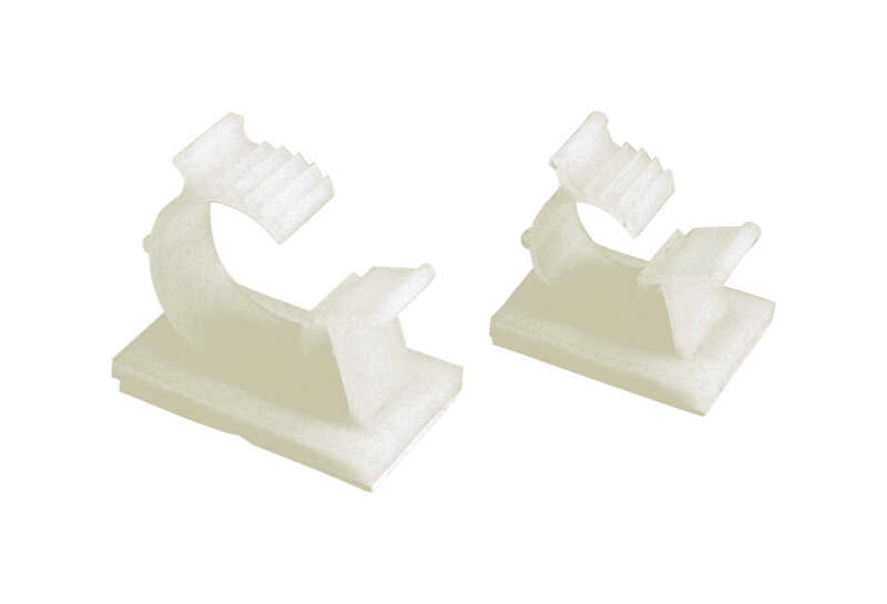 Gardner Bender  3-3/4 in. L Natural  Plastic  Kwik Clip