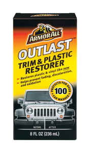 Armor All  Outlast  Plastic/Vinyl  Restorer  8 oz. Boxed