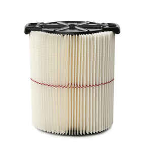 Craftsman  9 - 17816  6.88 in. L x 6.88 in. W Wet/Dry Vac Filter  5+ gal. White  1 pc.