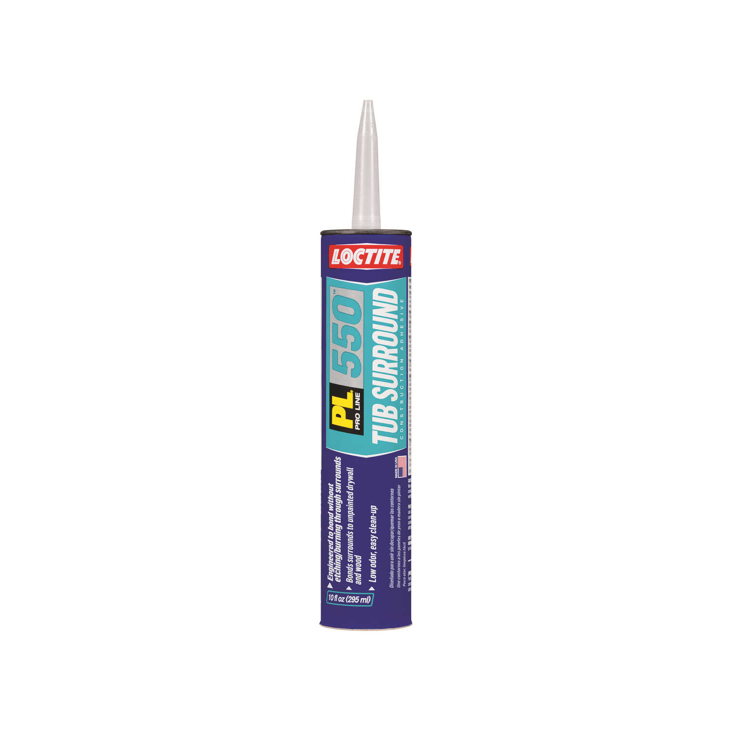 Loctite  PL 550 Tub Surround  Paste  Construction Adhesive  10 oz.
