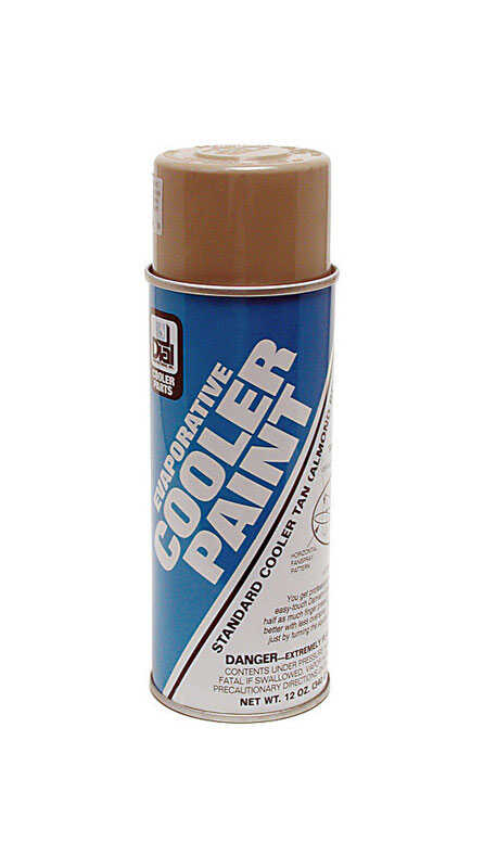 Dial  7-3/4 in. H x 5-9/16 in. W Plastic  Tan  Evaporative Cooler Coating