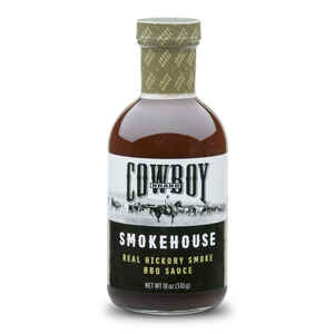 Cowboy  Smokehouse  Real Hickory Smoke  BBQ Sauce  18 oz.