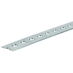 SteelWorks 0.07 in. x 1.38 in. W x 36 in. L Steel Slotted Flat Bar