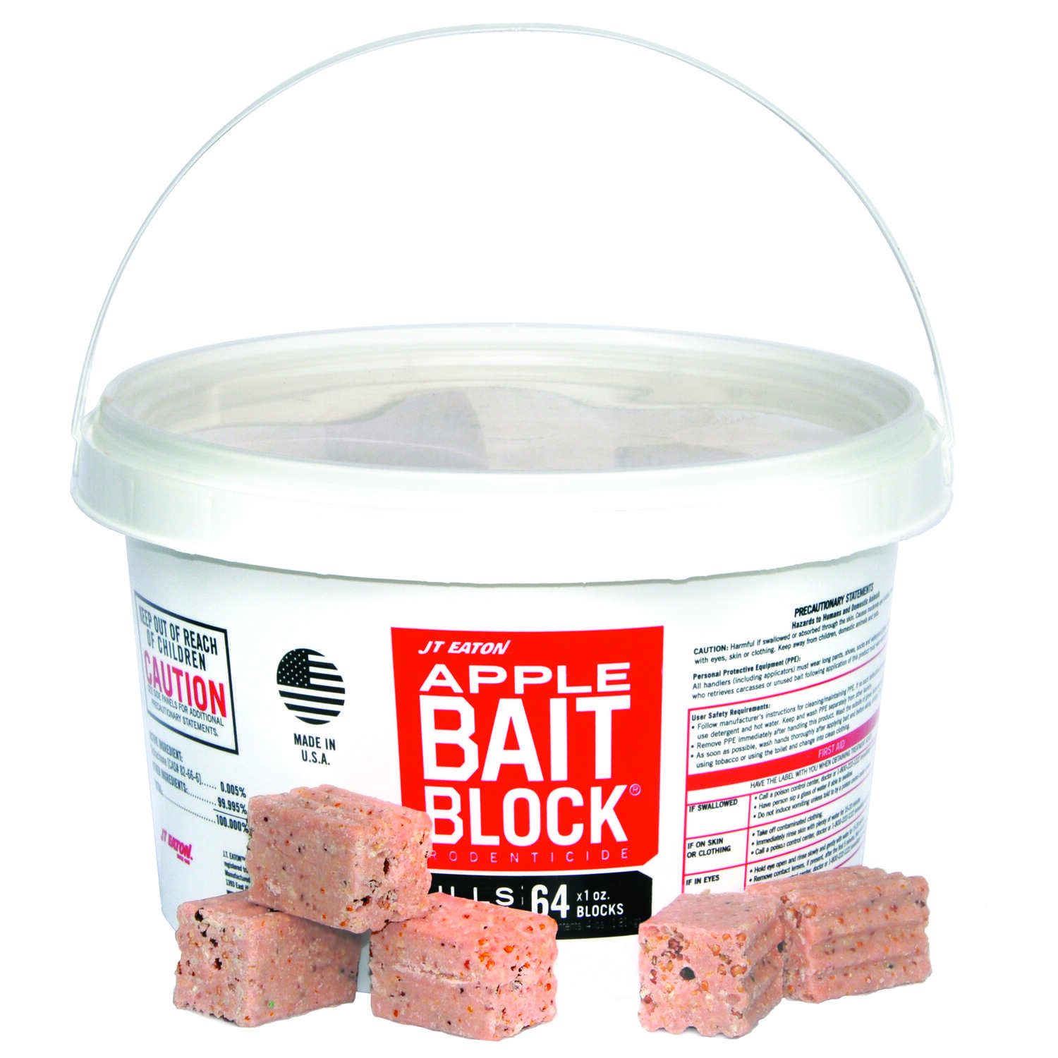 JT Eaton  Bait  Blocks  For Mice and Rats 64 pk