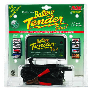 Battery Tender  Automatic  12 volts Battery Charger  1.25 amps