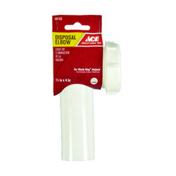 Ace Garbage Disposal Elbow Plastic