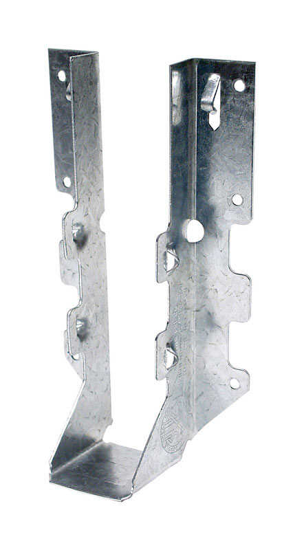 Simpson Strong-Tie  ZMax  6.63 in. H x 1.56 in. W 18 Ga. Galvanized Steel  Joist Hanger