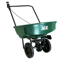 Ace  Push  Spreader  For Fertilizer 65 lb.