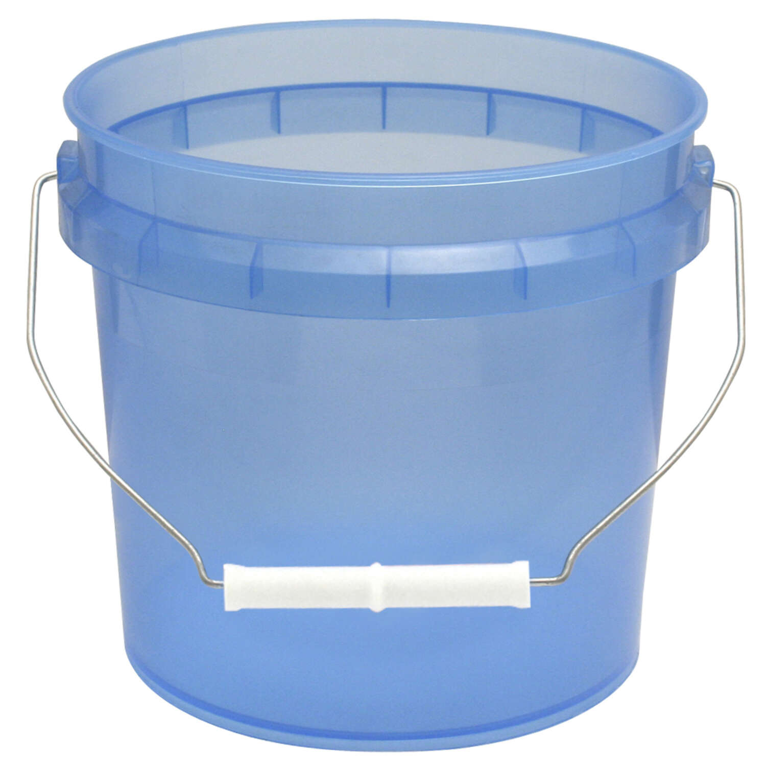 Leaktite  Blue  1 gal. Plastic  Bucket