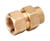 Home-Flex  3/4 in. Compression   x 3/4 in. Dia. FPT  Brass  Female Adapter