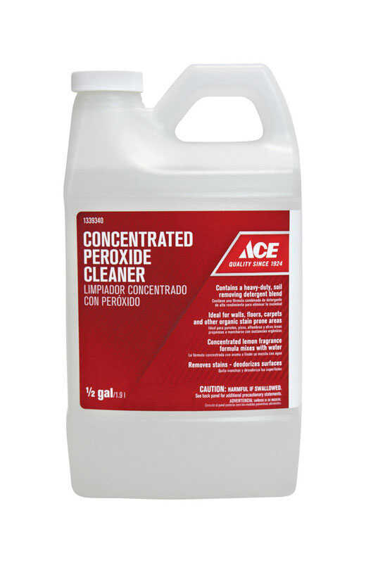 Ace  No Scent Peroxide Cleaner  1/2 gal. Liquid