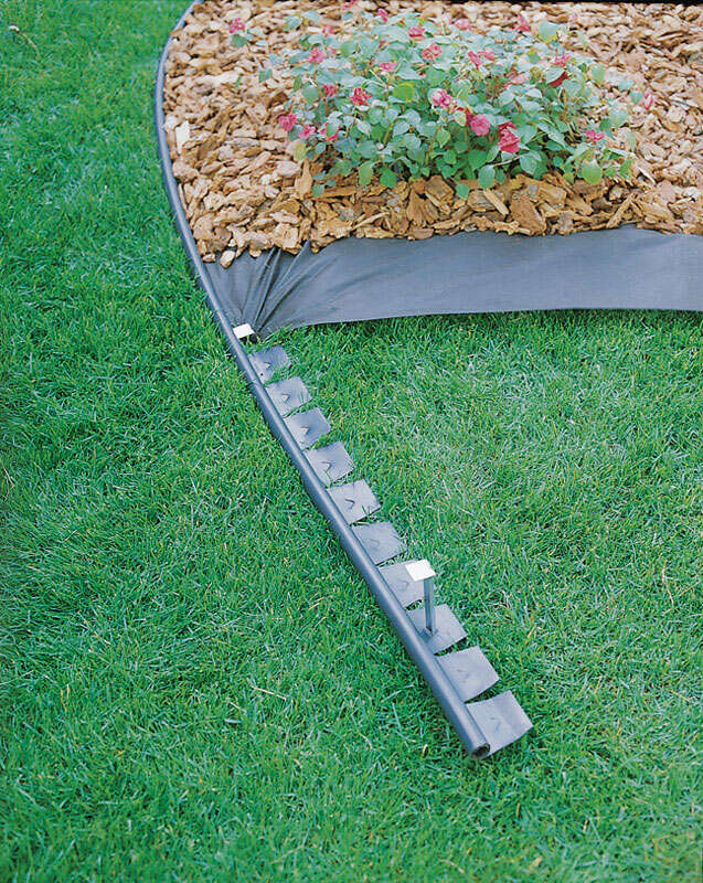 Master Mark  Zip Edge  20 ft. L x 4.5 in. H Flexible Lawn Edging  Black  Plastic