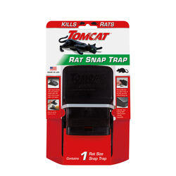 Tomcat Snap Trap For Rats 1 pk