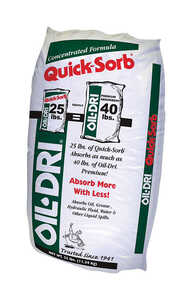 Oil Dri Concentrate Floor Absorbent Bagged 25 lb.