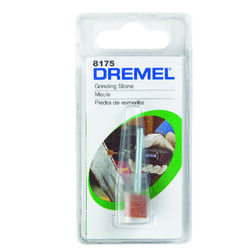 Dremel 3/8 in. Dia. x 3/8 in. L Aluminum Oxide Grinding Stone Cylinder 35000 rpm 1 pc.