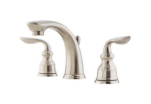 Pfister  Avalon Widespread  Two Handle  Lavatory Faucet  8 in. Brushed Nickel