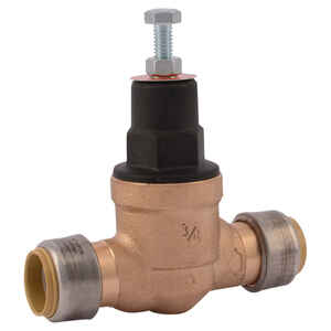 Cash Acme  Push to Connect  Pressure Regulator Valve