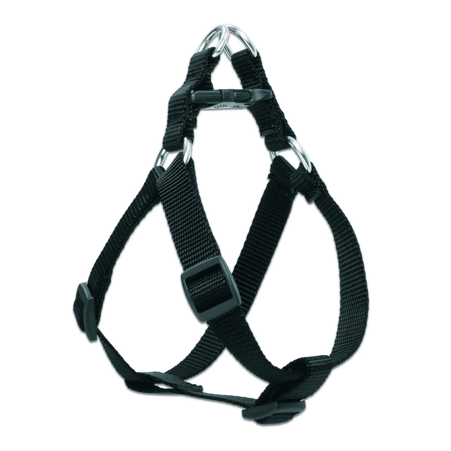 Lupine Pet  Basic Solids  Black  Nylon  Dog  Harness