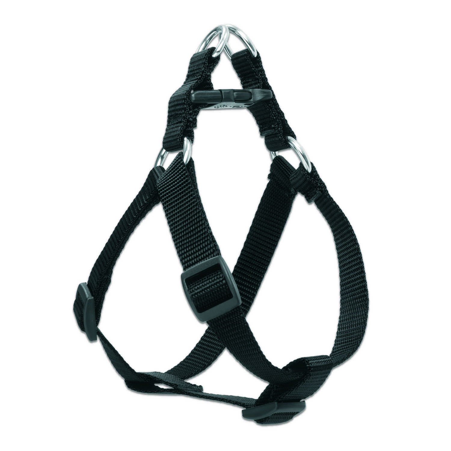 Lupine Pet  Basic Solids  Black  Black  Nylon  Dog  Harness