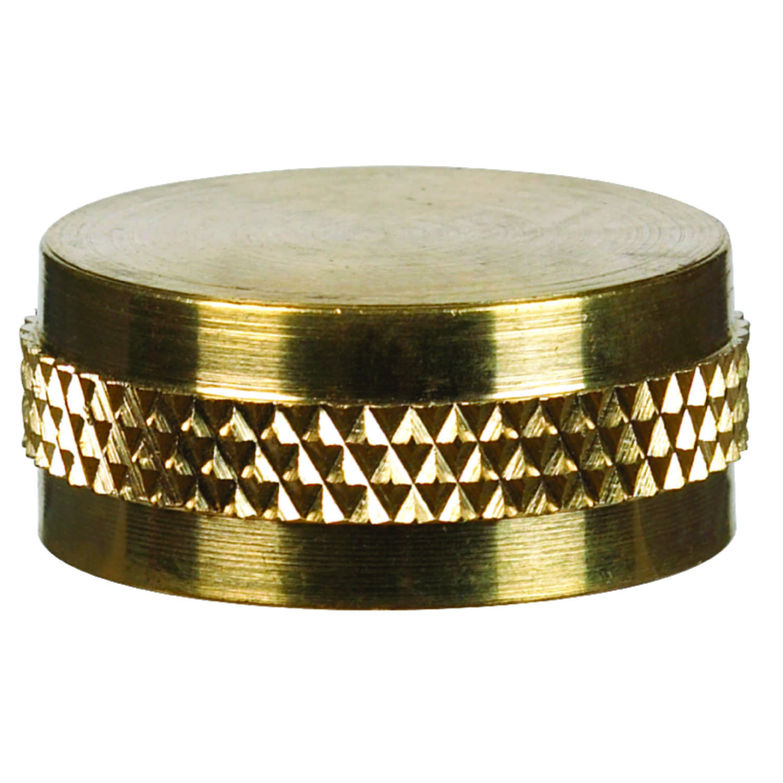 JMF 3/4 in. Brass Garden Hose Cap - Ace Hardware