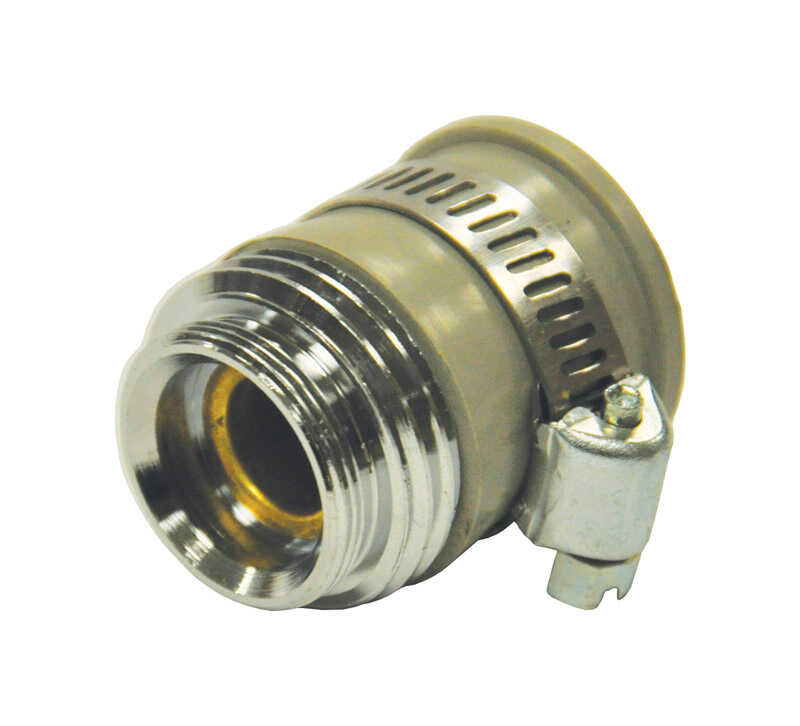 Danco  Female/Male  Garden Hose Aerator Adapter  Brass