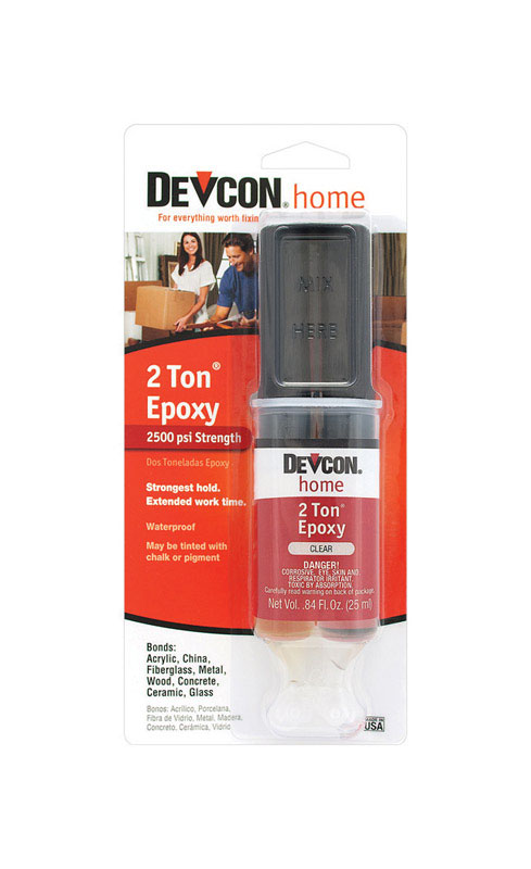 Devcon Home  2 Ton  High Strength  Liquid  Epoxy  .84 oz.